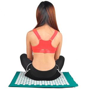 Anself Massage Mat Spike Akupunktur Pad Entlasten Stress Pain Akupressur Kissen Yoga Mat Amazon De Drogerie Korperpflege