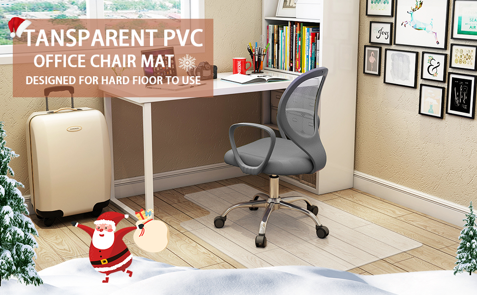 chair mat with lip