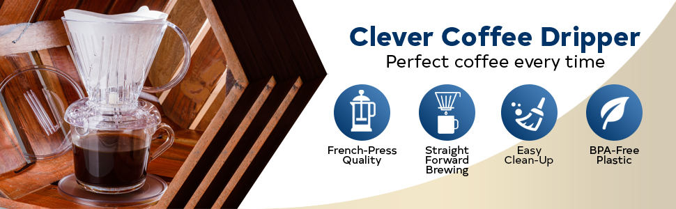 Clever Clever Coffee Dripper Perfect coffee  maker slow-drip coffee