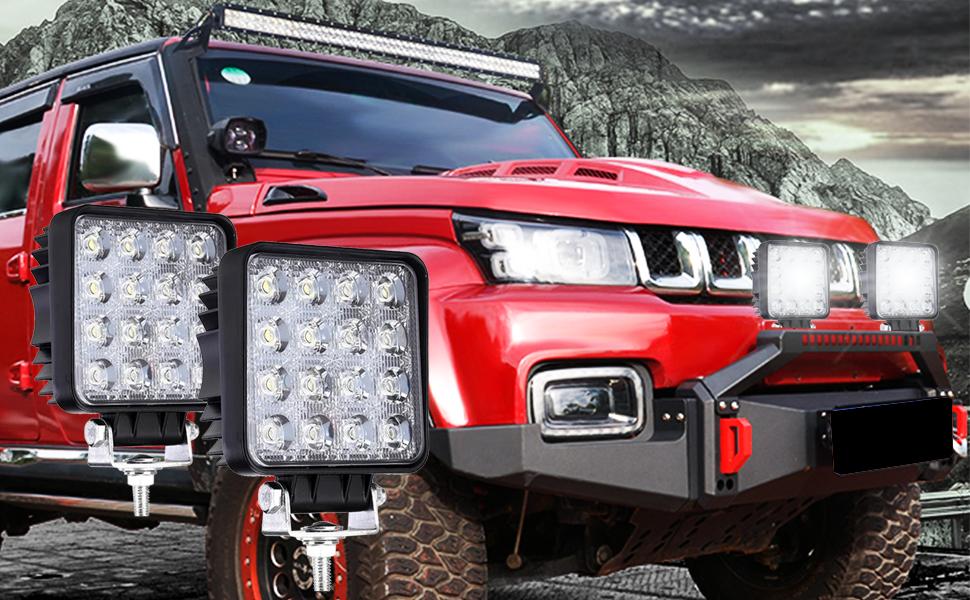 Zusatzscheinwerfer automotive scheinwerfer led-scheinwerfer Work Light Spot Flood