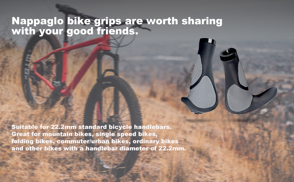 Nappaglo bicycle handlebar covers have a wide range of applications.