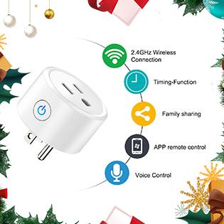 WiFi Smart Plug Mini Wireless Socket Outlet