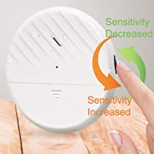 Ultra-thin vibration alarm