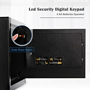 electronic safe for money