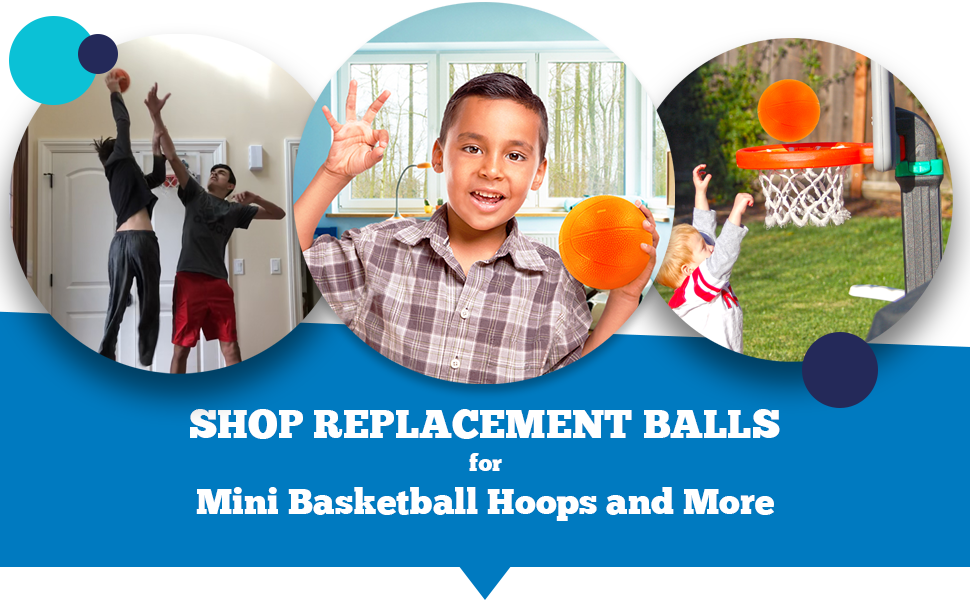 shop replacement balls for sklz and mini basketball hoops