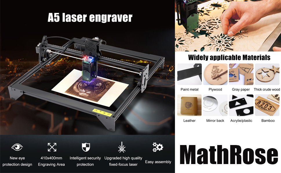 Laser Graviermaschine