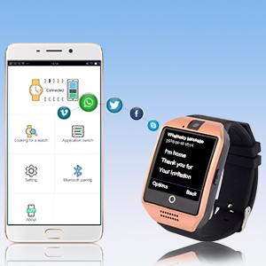 smartwatch push notifications