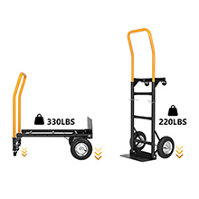 Heavy Duty Platform Cart for Moving/Warehouse/Garden/Grocery