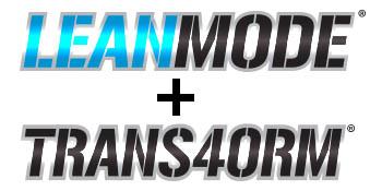 lean mode, trans4orm