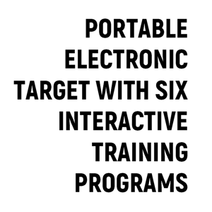 Portable Electronic target