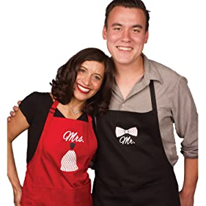 Mr and Mrs Apron for all occasions