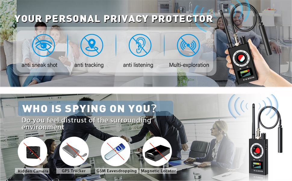 your personal privacy protector, who is spying on you