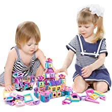 bloques de construcción magnéticos para niños de 3 años