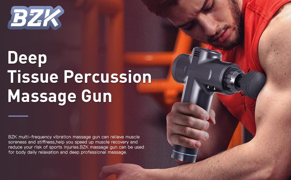 Deep Tissue Percussion Massage Gun