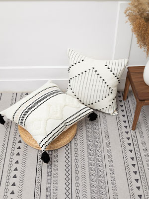 pillow covers couch for 2 decorative white room decor boho girl cushion cheap bedroom square