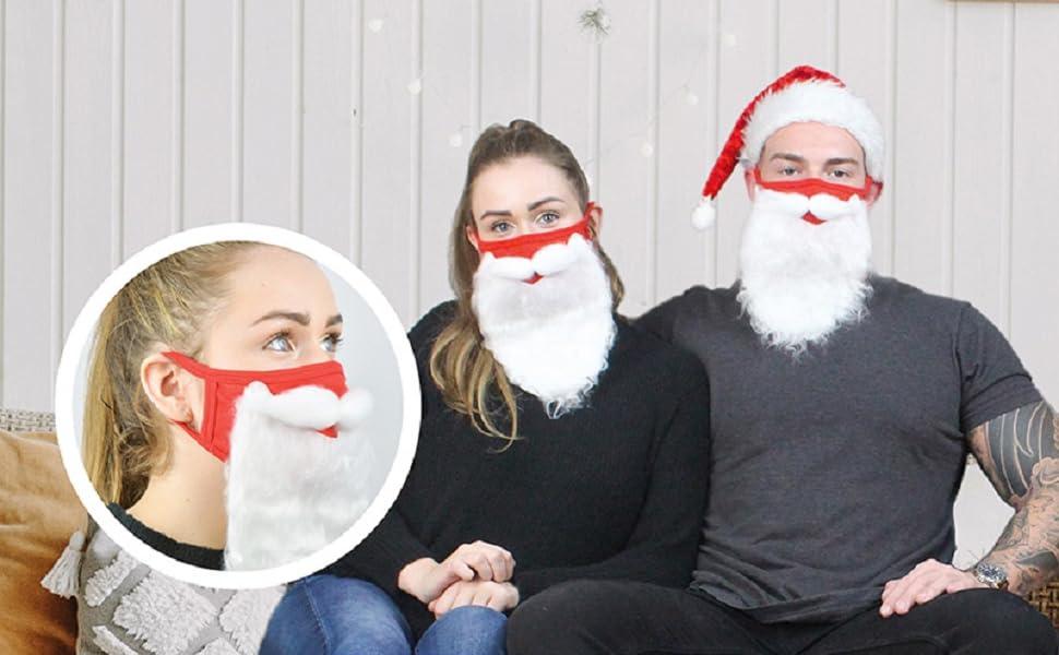圣诞老人面具
