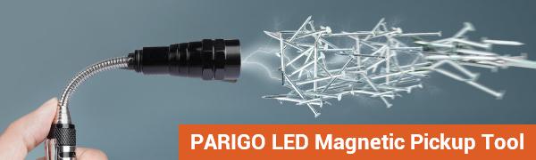 PARIGO LED Magnetic Pickup Tool