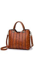 vegan leather purses top handle handbags for women crossbody bag purple relic rofozzi