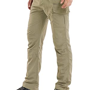 linlon Fulture Direct Mens Hiking Pants Quick Dry Lightweight Fishing Camping UPF 50 Cargo Pants with Pockets