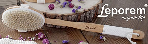 lotion for bath back brush bathing body bamboo blue applicator apply applying acne cream cleaner