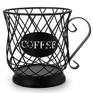 Coffee Mug Storage Basket
