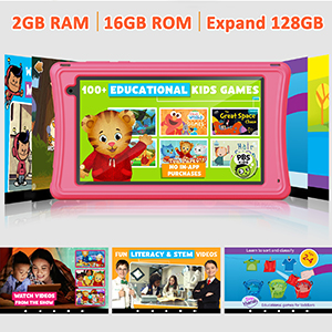 kids tablet with case