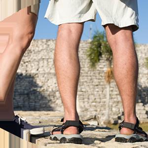 man summer cool outdoor comfortable sandals