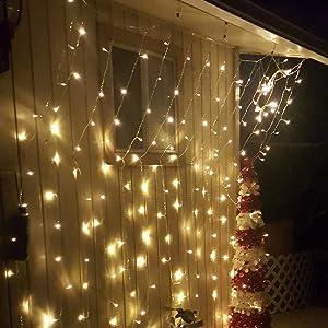 curtain lights outdoor