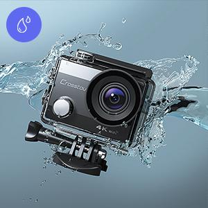 underwater camera, waterproof camera
