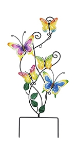 "28"" Butterfly Garden Stake Decor"