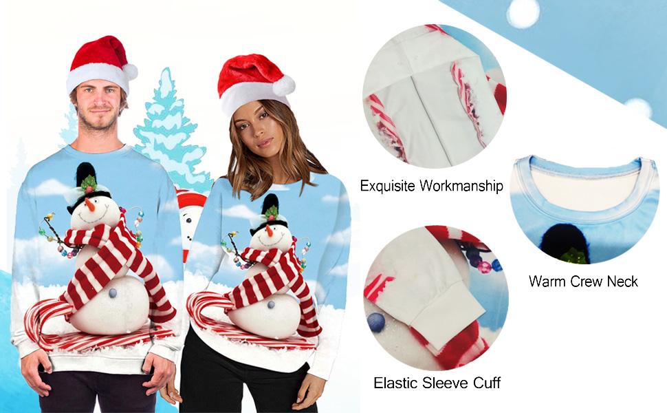 Molson Canadian 3D Print Ugly Christmas Sweater Gift Xmas Shirt
