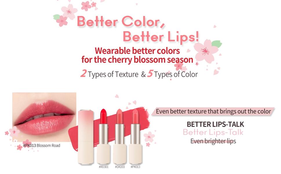 Heart Blossom Better Lips-Talk