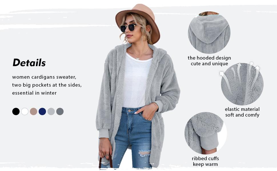 Fuzzy Fleece Outwear