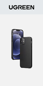 UGREEN Genuine Leather Case for iPhone 12 /12 Pro