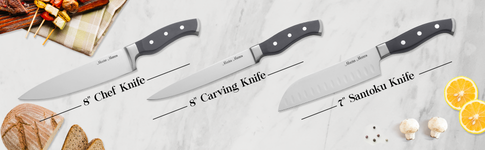 knife set sharpener chef knives kitchen block steak cheese scissors ceramic cutlery with and sets