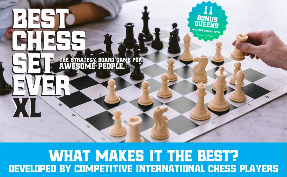 Best Chess Set Ever XL Set