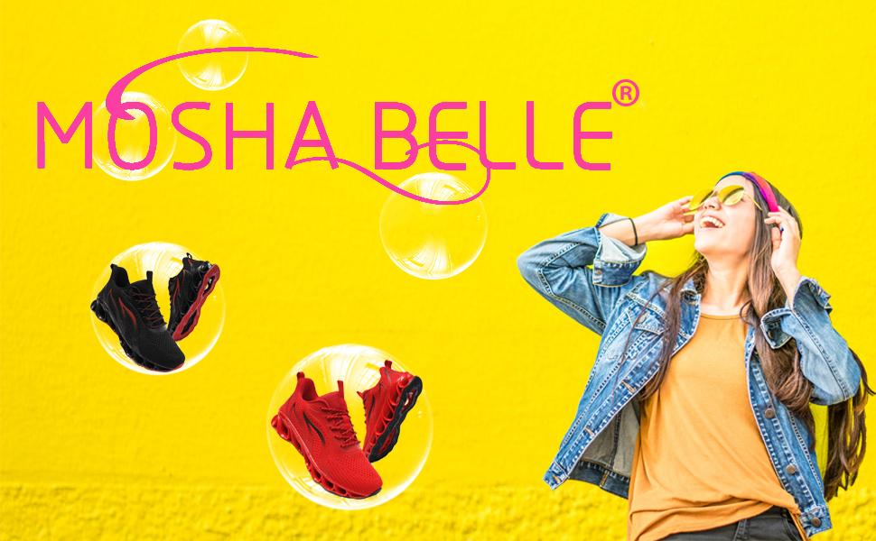 MOSHA BELLE WOMEN WALKING SHOES