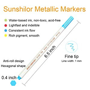 felt tip marker pens
