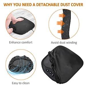 lightweight portable massager for feet foot warmer
