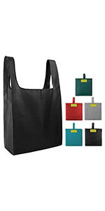 Reusable bags for groceries shopping totes bulk bags 5 pack reusable shopping bags