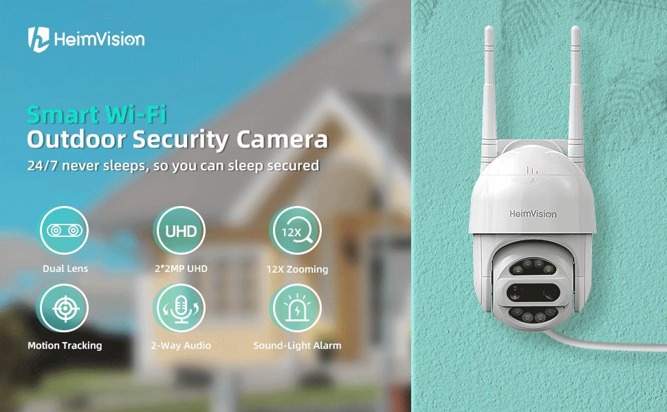 HeimVision PTZ Security Camera Outdoor