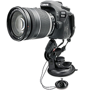 DSLR Camera Scution Cup Mount