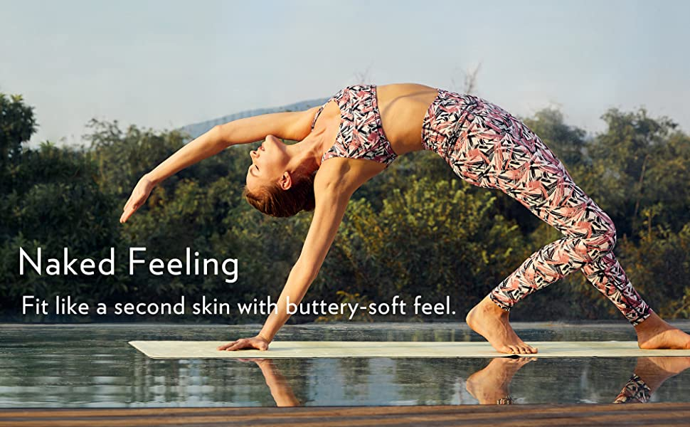 CRZ YOGA Womens 7/8 High Waisted Yoga Pants Workout Leggings Naked Feeling I-25 Inches