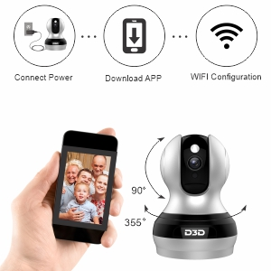 F1-362B Home Security Camera Easy Installation