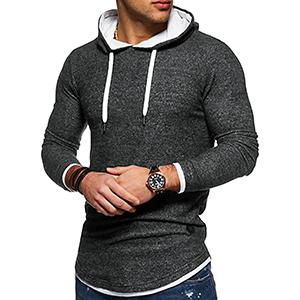 Fashion Men's Long Sleeve Hoodie
