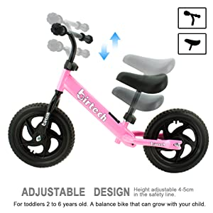 Adjustable height and seat