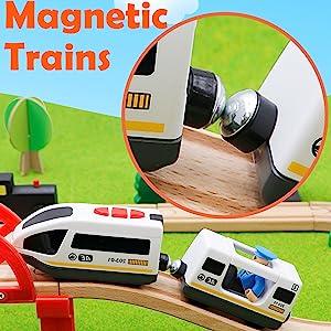 Magnetic Trains