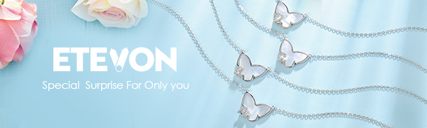 butterfly initial necklace for women girls teenager wife aunt friend