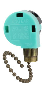 Bronze ZE-268S6 Pull Chain Switch