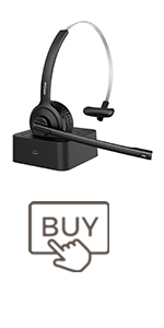 Mpow M5 Pro Bluetooth Headset with Microphone